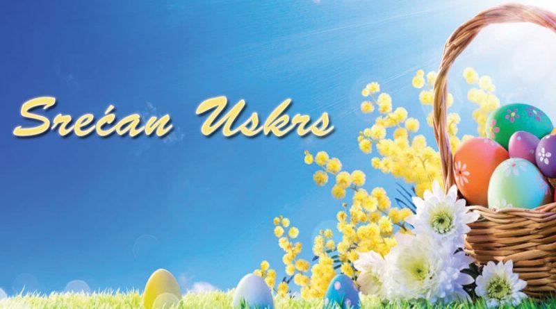 Našim prijateljima Katoličke veroispovesti želimo Srećan Uskrs